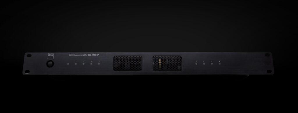 CI 8-120 DSP Multi-Channel Amplifier