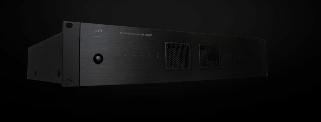 CI 8-150 DSP Multi-Channel Amplifier