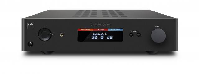 [block]C 368 Hybrid Digital DAC Amplifier