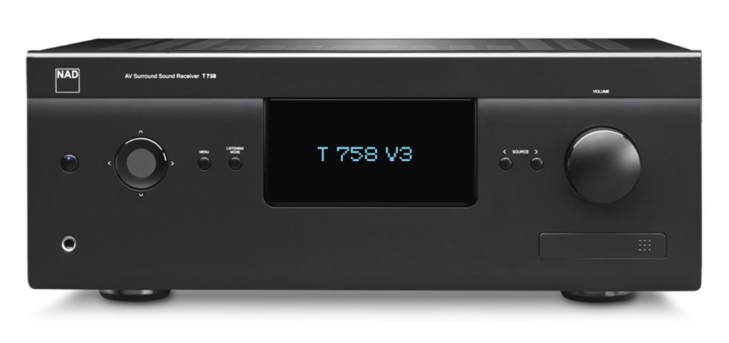 [block]T 758 V3 A/V Surround Sound Receiver